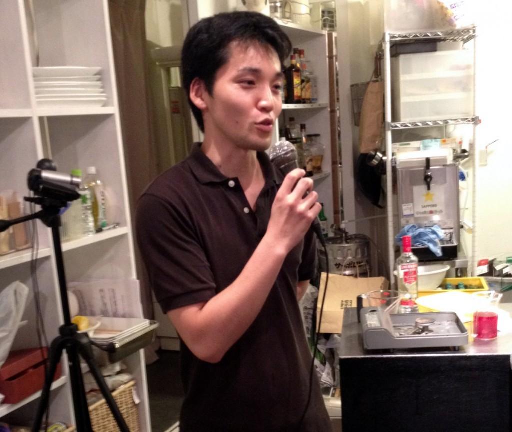 主催のFoodist Link 株式会社代表 高田さん