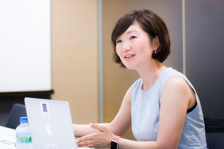 Uber 北尾恵子さん